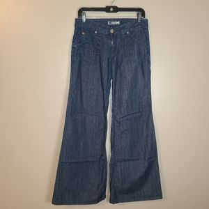 2/$35🔥 Hudson Wide leg Jeans, Size 28
